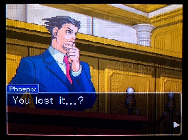 逆転裁判2 北米版 食い違う時間38