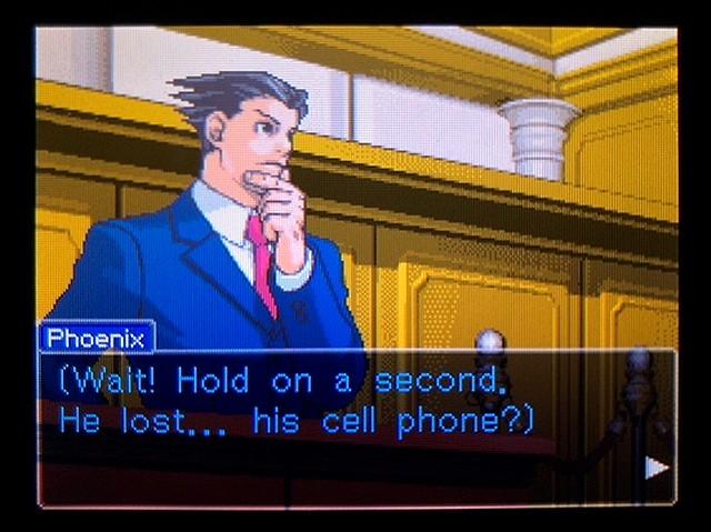 逆転裁判2 北米版 Where was a telephone booth?2