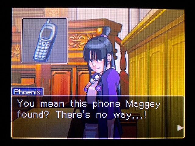 逆転裁判2 北米版 Where was a telephone booth?4