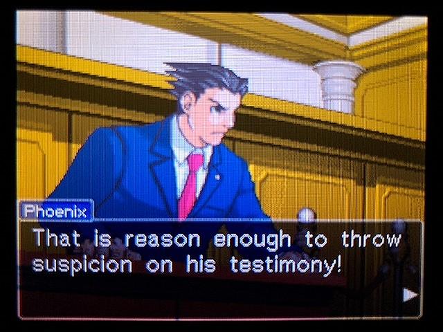 逆転裁判2 北米版 ウェリントンの15分3