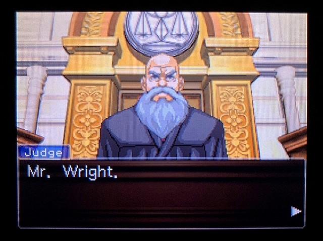 逆転裁判2 北米版 ウェリントンの15分11