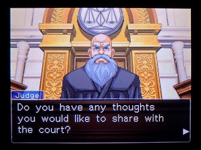 逆転裁判2 北米版 ウェリントンの15分13