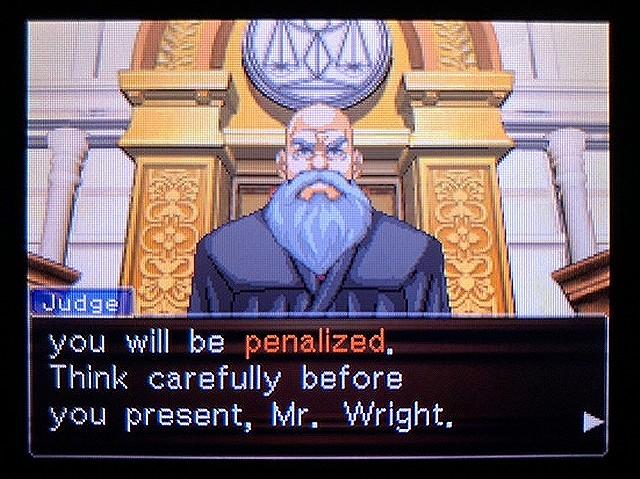 逆転裁判2 北米版 ウェリントンの15分18