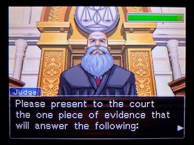 逆転裁判2 北米版 ウェリントンの15分21