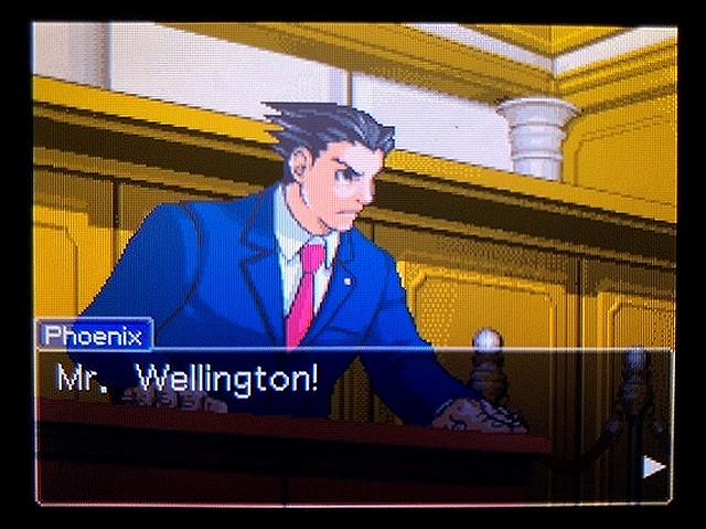 逆転裁判2 北米版 ウェリントンの15分24