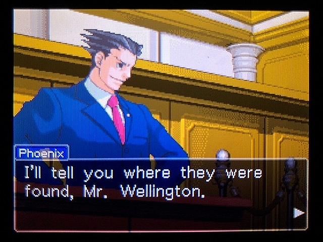 逆転裁判2 北米版 ウェリントンの15分30