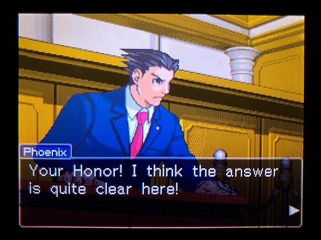 逆転裁判2 北米英語版 本当の犯人2