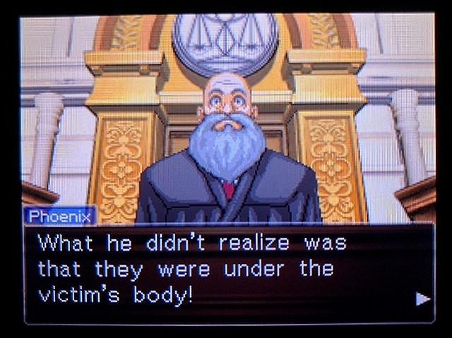 逆転裁判2 北米英語版 本当の犯人5