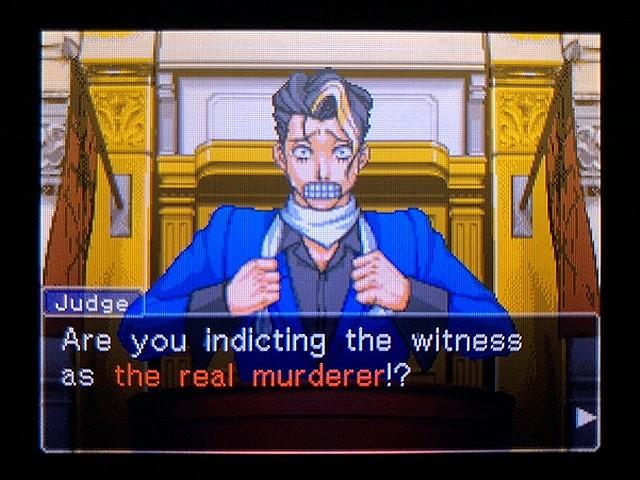 逆転裁判2 北米英語版 本当の犯人8