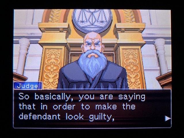 逆転裁判2 北米英語版 どうしてわかった?11