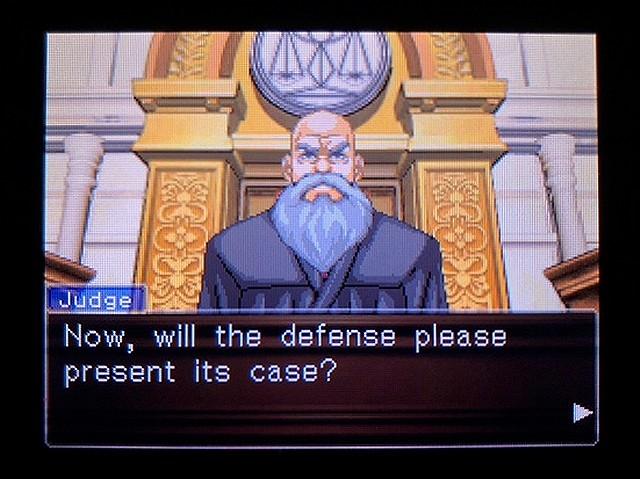 逆転裁判2 北米英語版 どうしてわかった?20