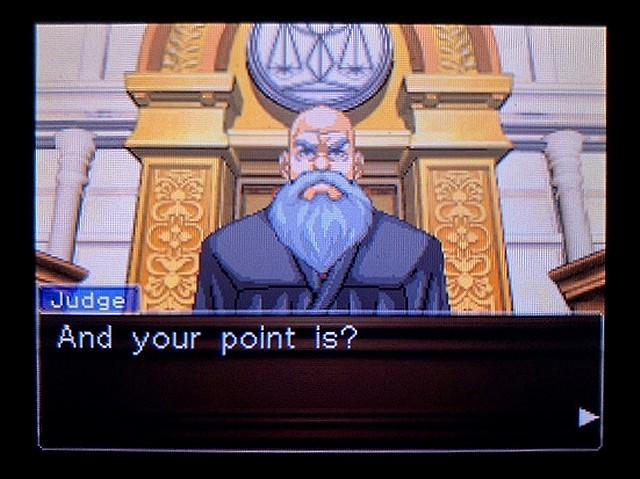 逆転裁判2 北米英語版 ウェリントンの動機2