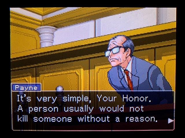 逆転裁判2 北米英語版 ウェリントンの動機3