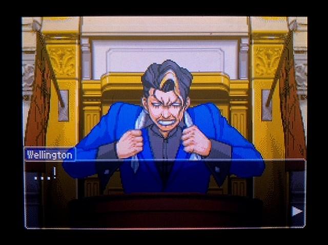 逆転裁判2 北米英語版 ウェリントンの動機8