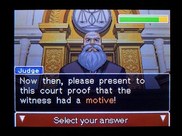 逆転裁判2 北米英語版 ウェリントンの動機12