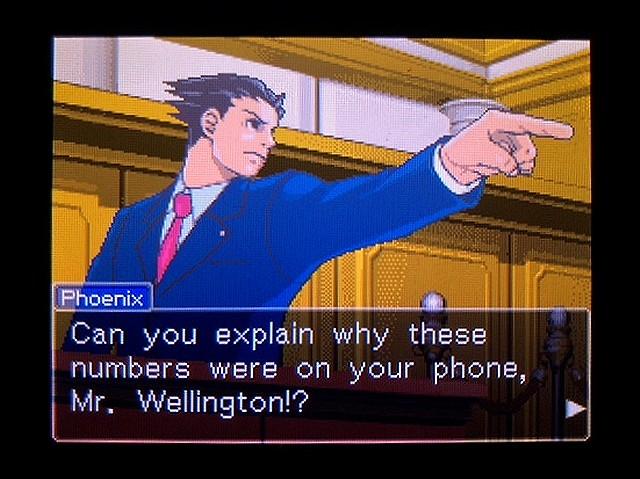 逆転裁判2 北米英語版 ウェリントンの動機22