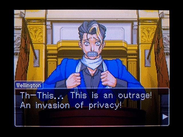 逆転裁判2 北米英語版 ウェリントンの動機23