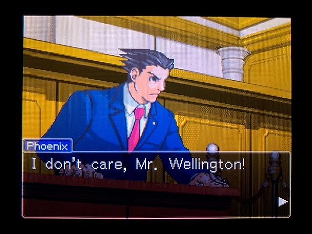 逆転裁判2 北米英語版 ウェリントンの動機27