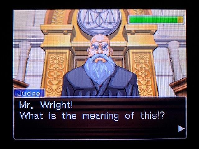 逆転裁判2 北米英語版 ウェリントンの動機32