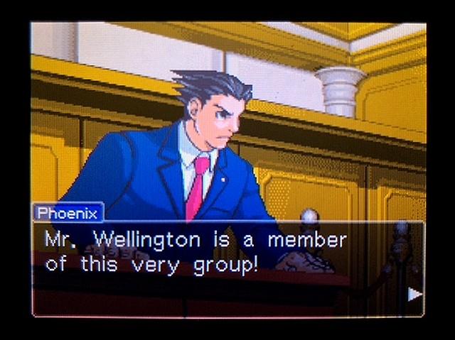 逆転裁判2 北米英語版 ウェリントンの動機35