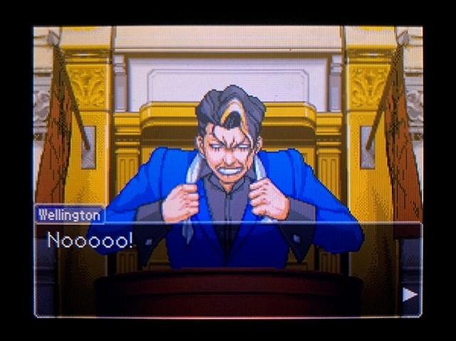 逆転裁判2 北米英語版 ウェリントンの動機36