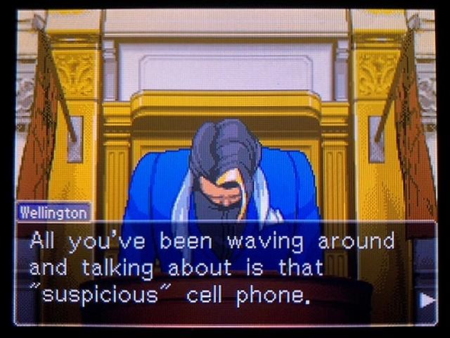 逆転裁判2 北米英語版 The Cell Phone13