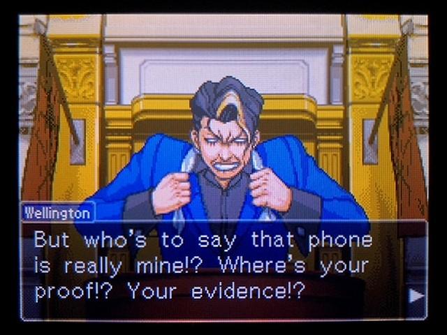 逆転裁判2 北米英語版 The Cell Phone14