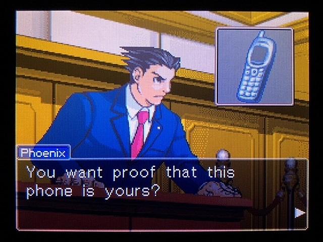 逆転裁判2 北米英語版 The Cell Phone15