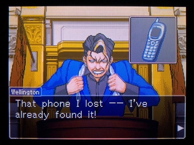 逆転裁判2 北米英語版 The Cell Phone17