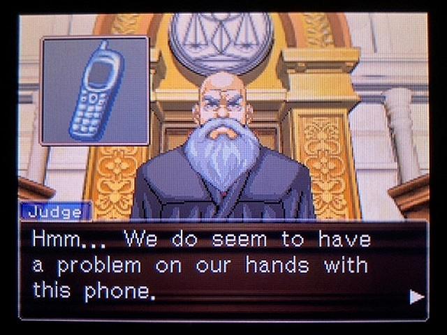 逆転裁判2 北米英語版 The Cell Phone20