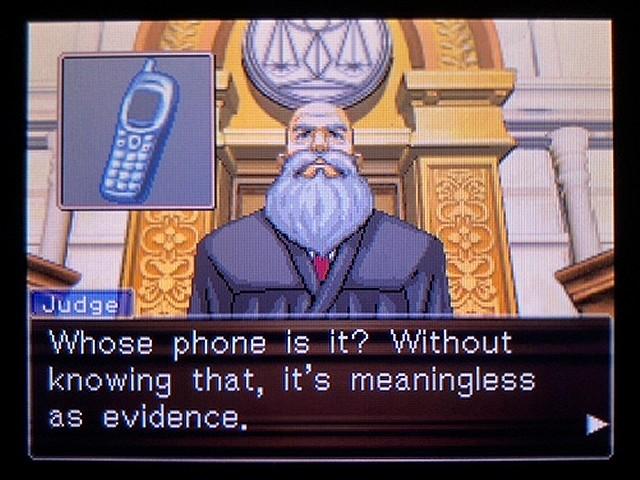 逆転裁判2 北米英語版 The Cell Phone21