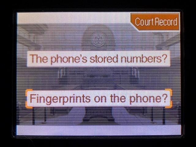 逆転裁判2 北米英語版 The Cell Phone25