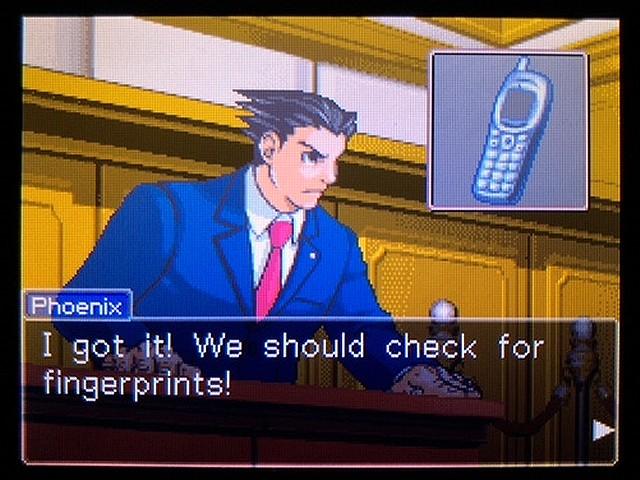 逆転裁判2 北米英語版 The Cell Phone26