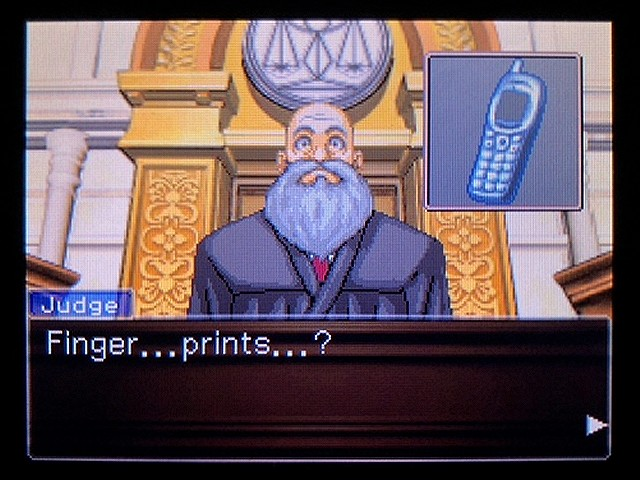 逆転裁判2 北米英語版 The Cell Phone27