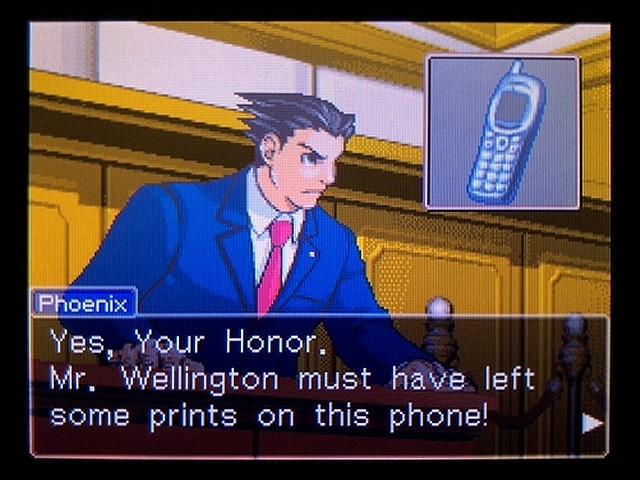 逆転裁判2 北米英語版 The Cell Phone28