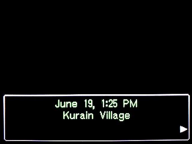 逆転裁判2 北米英語版 Kurain Village1