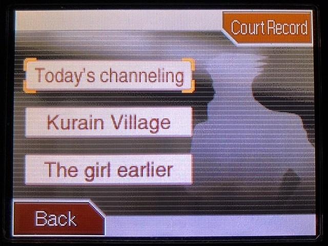 逆転裁判2 北米英語版 Kurain Village19