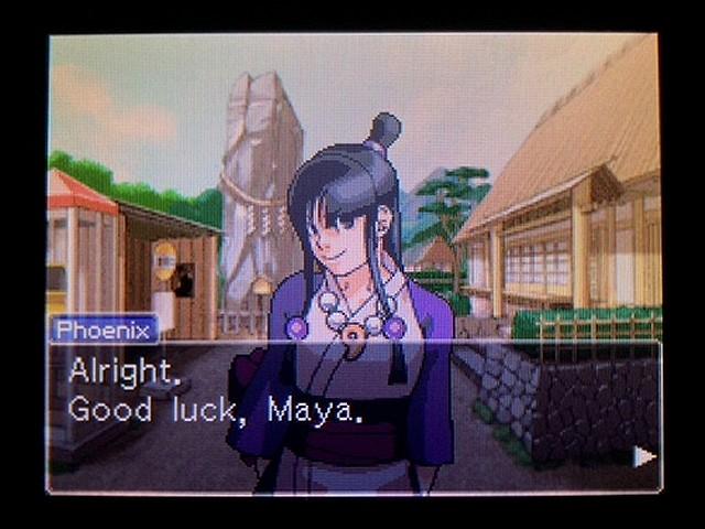 逆転裁判2 北米英語版 Talk with Maya30