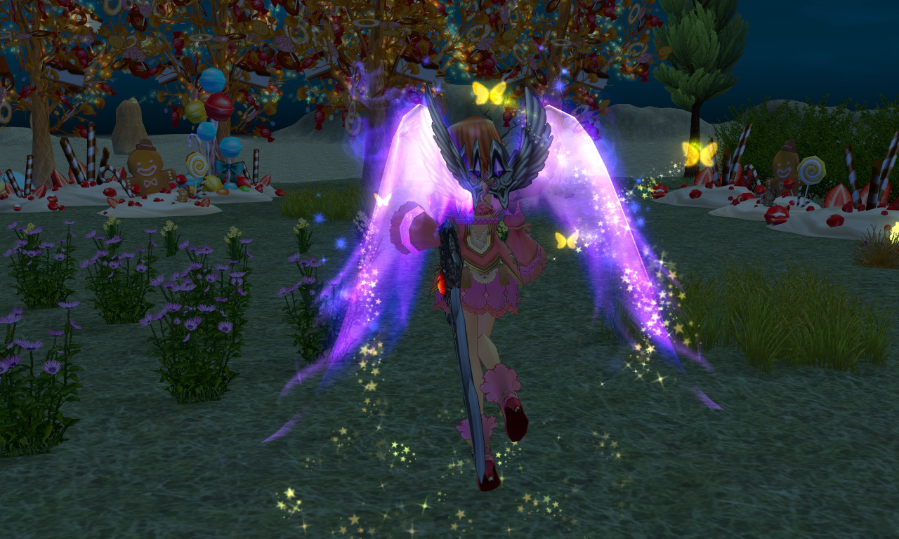 闇の光の翼2
