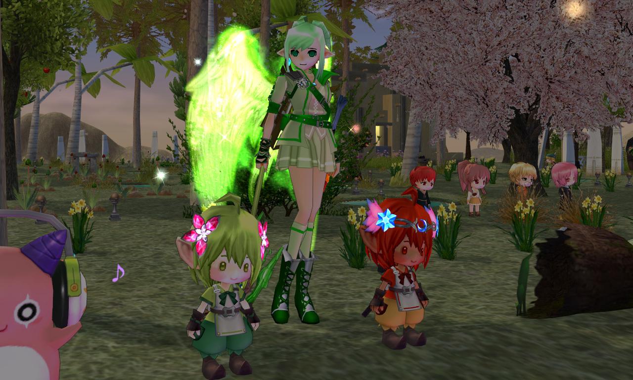 妖精の村イベント結果・ウッドオウル