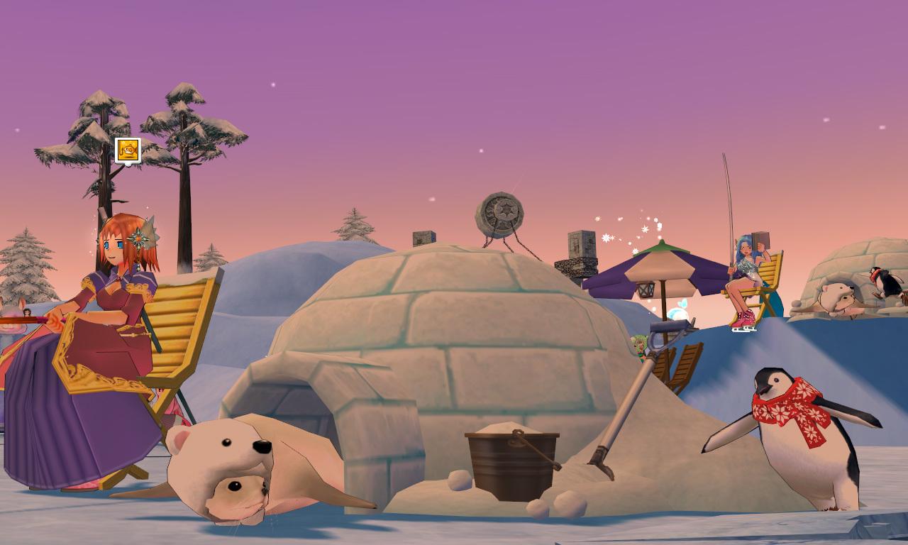 グルー釣り用のイス・ペンギン3