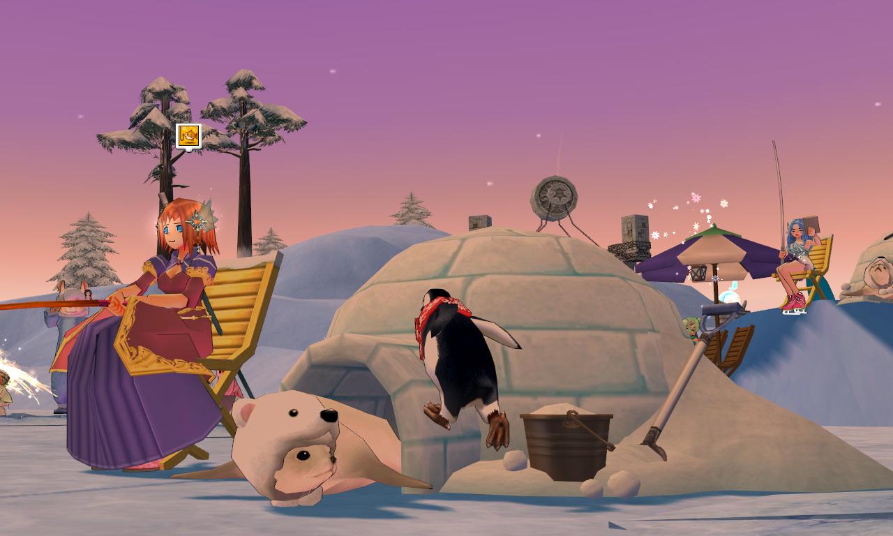 グルー釣り用のイス・ペンギン4