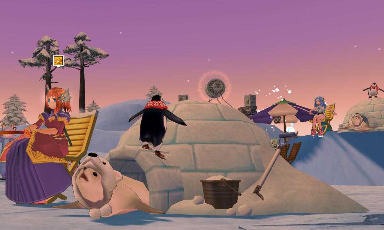 グルー釣り用のイス・ペンギン5