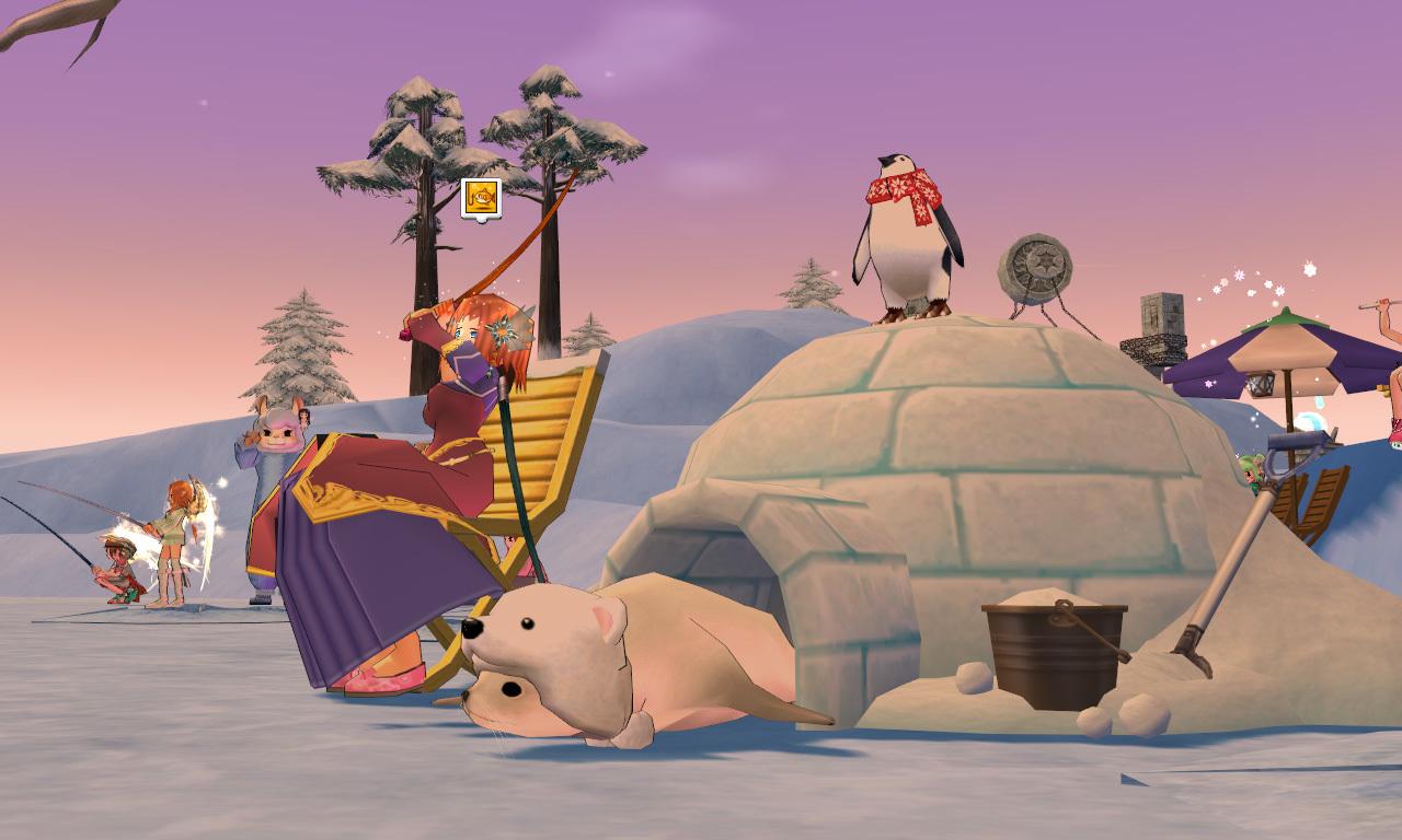 グルー釣り用のイス・ペンギン7