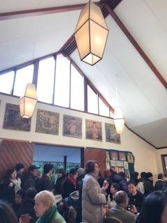 礼拝堂の中