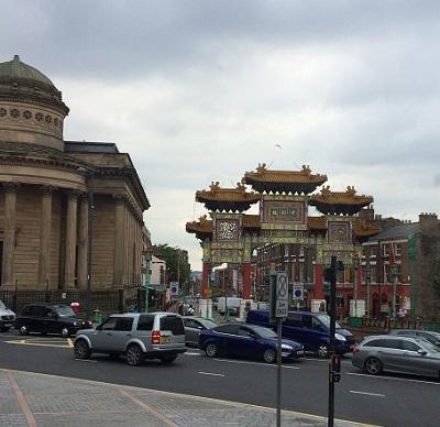 リバプールの中華街