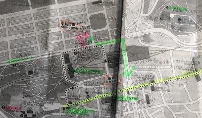 エディンバラの地図
