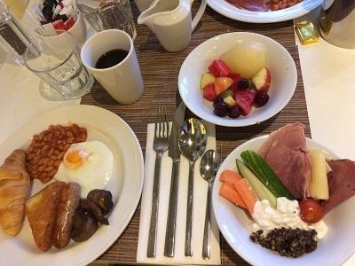 イギリス5日めの朝食