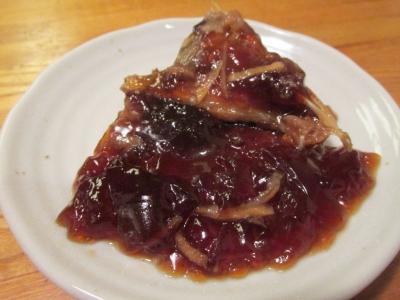 カワハギの煮こごり1