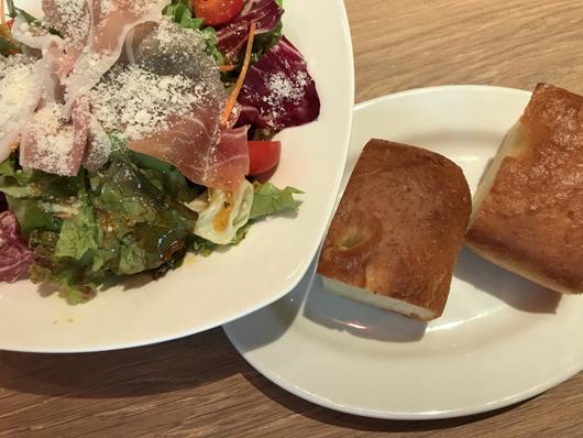 イタリアンサラダ パン